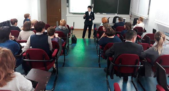 Заседание Базовой кафедры управления процессами в образовании 2