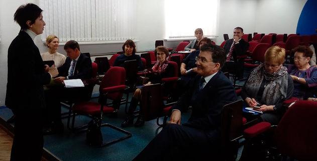 Заседание Базовой кафедры управления процессами в образовании 3