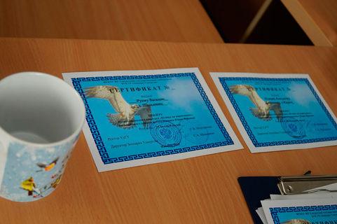 11 февраля прошло торжественное подведение итогов и награждение победителей соревнований  Птицы на кормушках  4