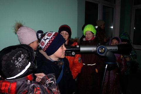 Занятие, посвящённое астрономии 4