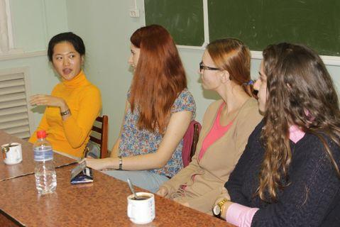 Занятия для профильного гуманитарного лагеря 1-й Игринской школы 3