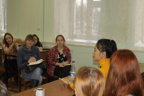 Занятия для профильного гуманитарного лагеря 1-й Игринской школы 2